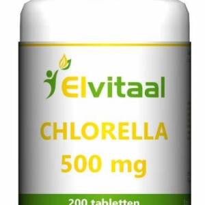 Elvitaal Chlorella 500mg Tabletten