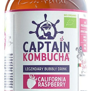 The GUTsy Captain Kombucha California Raspberry
