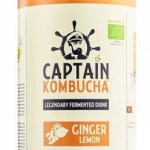 The GUTsy Captain Kombucha Ginger Lemon