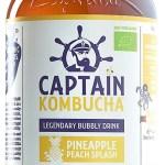 The GUTsy Captain Kombucha Pineapple Peach Splash