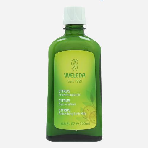 Weleda Citrus Refreshing Bath Milk - 200ml