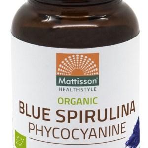 Mattisson HealthStyle Biologische Blue Spirulina Phycocyanine Poeder