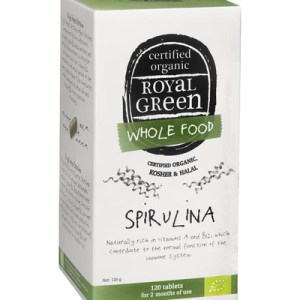 Royal Green Spirulina Tabletten gezond?
