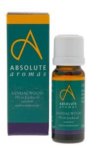 Absolute Aromas Sandalwood 3% in Jojoba Oil 10 ml