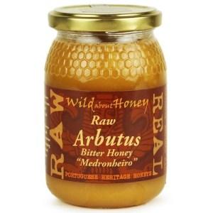 Wild About Honey Rauwe Arbutus Bitter Honing 500 Gram