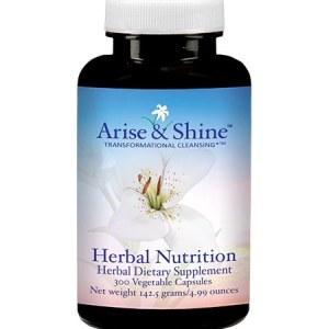 Arise & Shine Herbal Nutrition 300 V-Caps