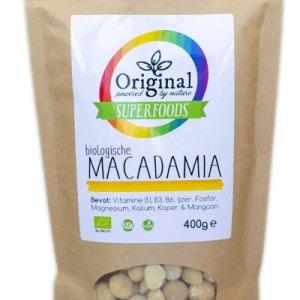 Original Superfoods Biologische Macadamia Noten 400 Gram
