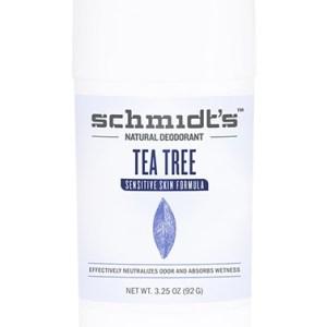 Schmidt's Deodorant Stick Sensitive Skin Tea Tree 92 Gram