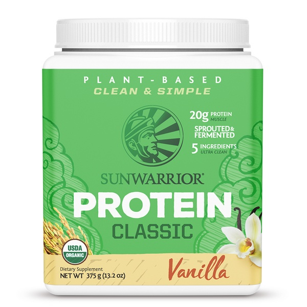Sunwarrior Classic Proteine Vanille 375 Gram Aanbieding
