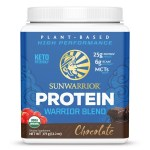 Sunwarrior Warrior Blend Biologische Proteïne Chocolade 375 Gram