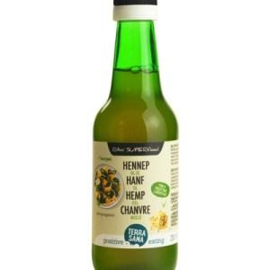 Terrasana Raw Hennep Olie Koudgeperst In Glas Bio (250ml) gezond?