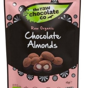The Raw Chocolate Co Biologische Chocolate Almonds 110 Gram