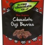The Raw Chocolate Co Biologische Chocolate Goji Berries 125 Gram