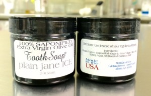 Tooth Soap Gel In A Jar Plain Jane 56 ML