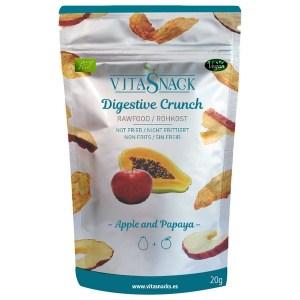 VitaSnack Organic Digestive Crunch Papaya and Apple 20 Gram