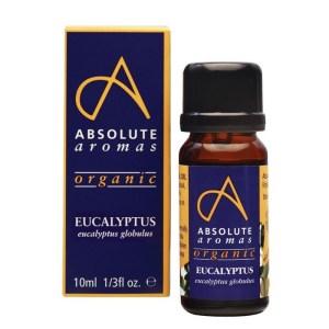 Absolute Aromas Organic Eucalyptus Globulus 10 ml