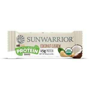 Sunwarrior Sol Good Biologische Proteine Bar Coconut Cashew 60 Gram Aanbieding
