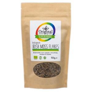 Original Superfoods Biologische Irish Moss Flakes 150 Gram