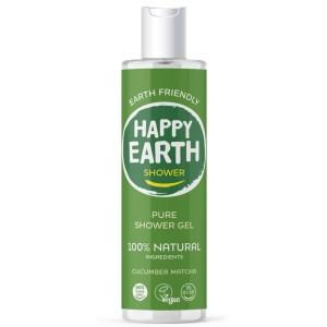 Happy Earth Showergel Cucumber Matcha 300 ml