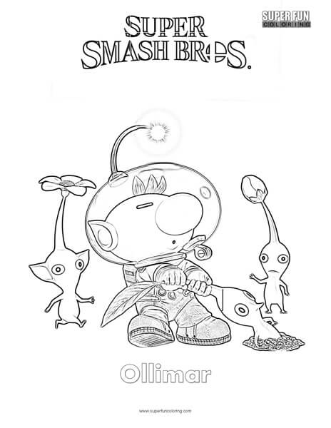 super smash bros characters coloring pages coloring pages
