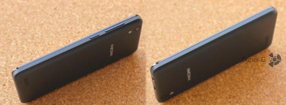 Боковые стороны смартфона Phicomm Energy 653