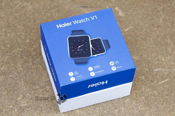 Коробка из-под Haier Watch V1