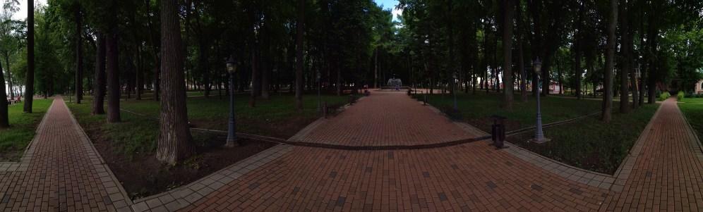 Пример панорамного кадра, снятого на Xiaomi Mi Max 2
