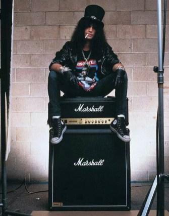 Slash выбирает Marshall AMP