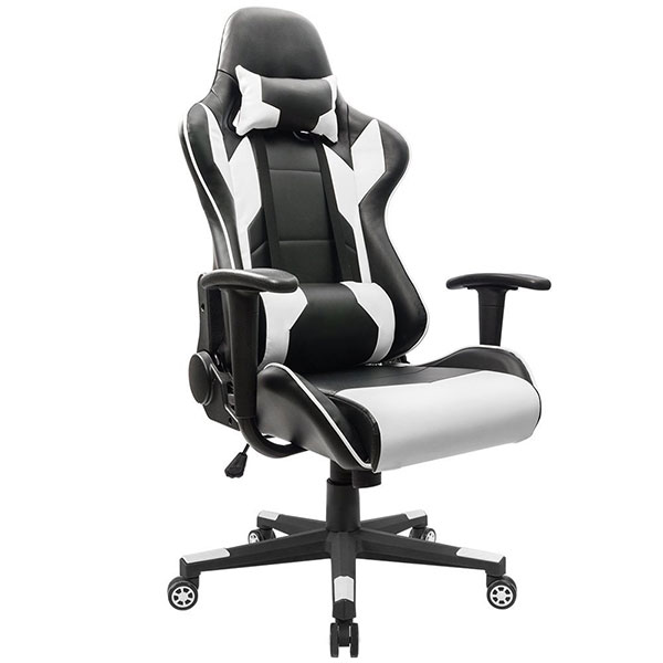 desk chair under 100 how to upholster chairs top 10 best pc gaming in 2018 buyer s guide homall executive high back swivel racing style