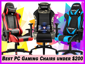 best gaming chair for pc wingback dining chairs canada under 200 real gamers budget battle 2019 15