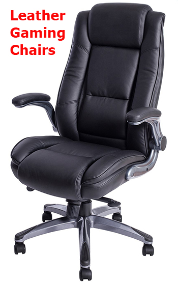 chairs for gaming ikea aluminum chair materials leather vs fabric maintenance