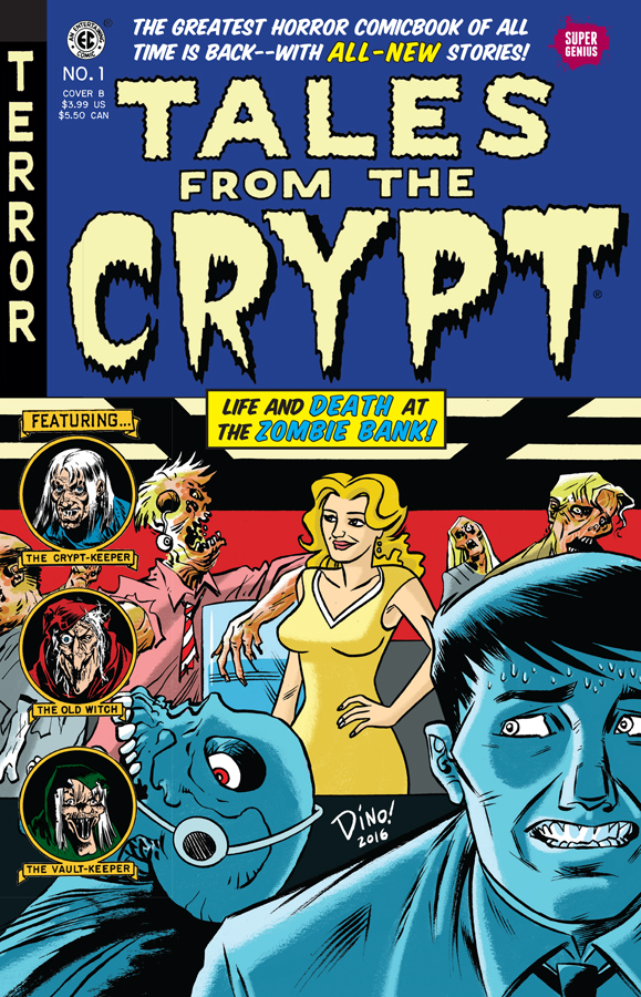 Tales From the Crypt - Dean Haspiel Cover