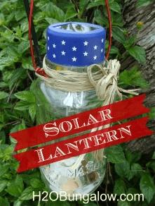 Patriotic Outdoor Solar Light