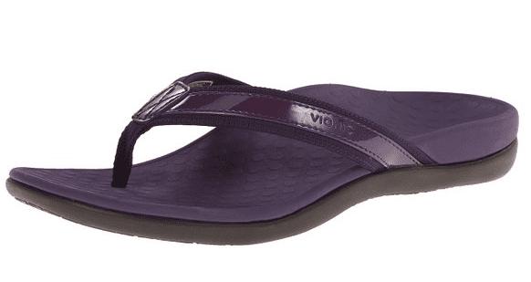 Vionic Womens Tide II Orthaheel Thong Sandal Shoe