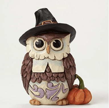 Enesco Jim Shore Mini Pilgrim Owl