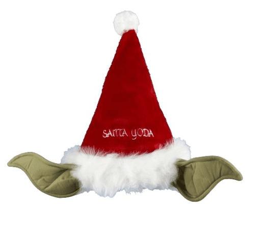 Star Wars 17-Inch Plush Yoda Santa Hat