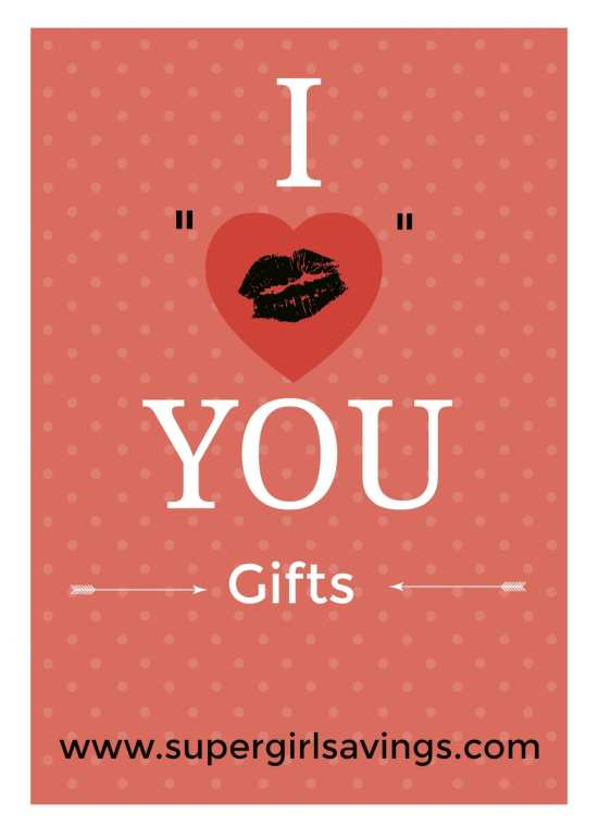 I Heart You Gift Ideas