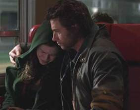 Logan and Rogue in X-Men