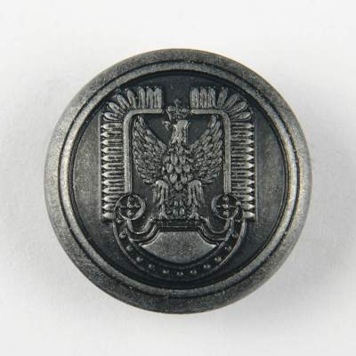 Guzik polskich Sił Powietrznych kolor stare srebro śr. 22 mm