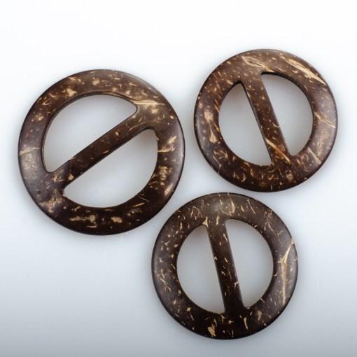 Klamry kokosowe 50, 44, 38mm okrągłe