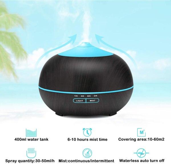 Tenswall Humidifier Portable Diffuser