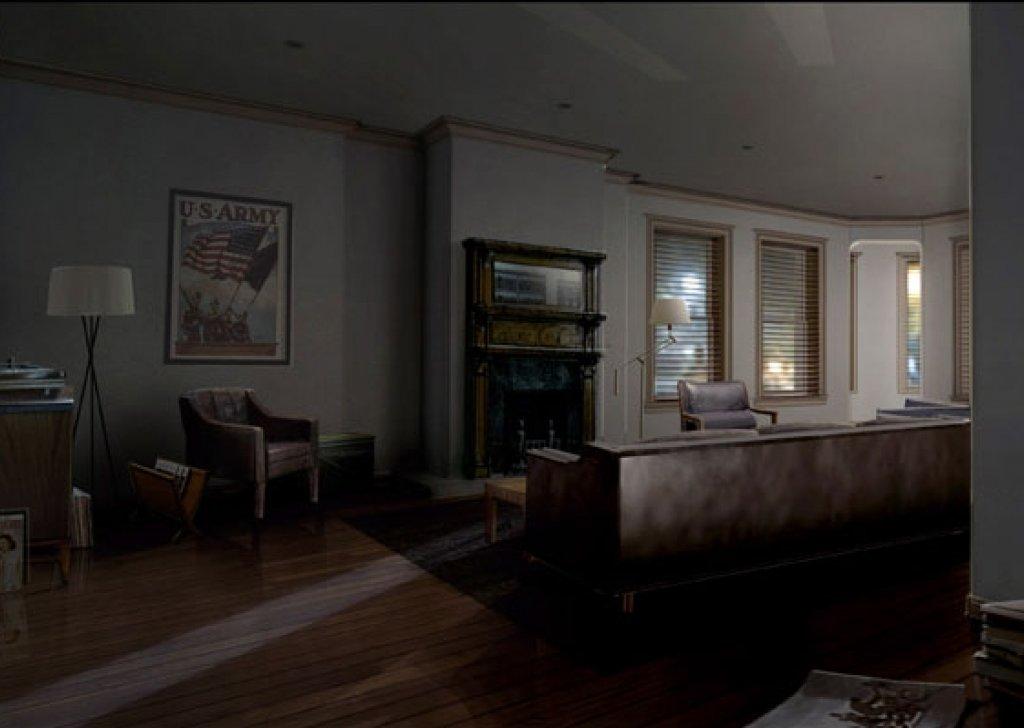 Steve Rogers Brooklyn Apartment audio atmosphere