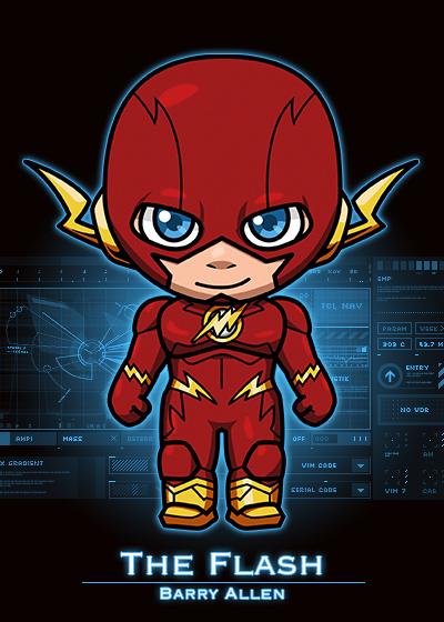 超級英雄圖譜 — The Flash 閃電俠 – 超級英熊