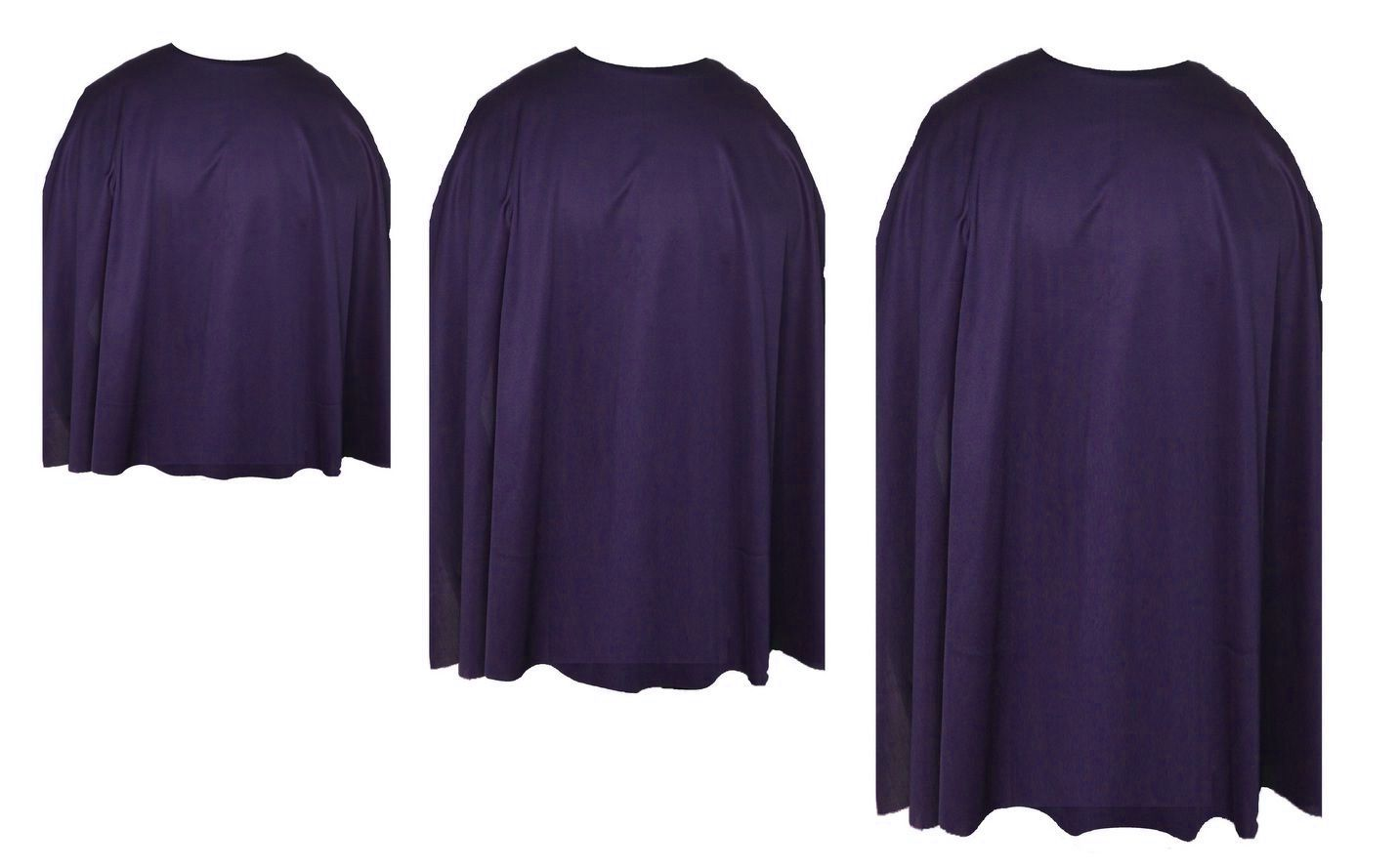 Plum Purple  capes