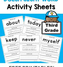 Third Grade Dolch Words Worksheets   Printable Worksheets and Activities  for Teachers [ 3072 x 2304 Pixel ]