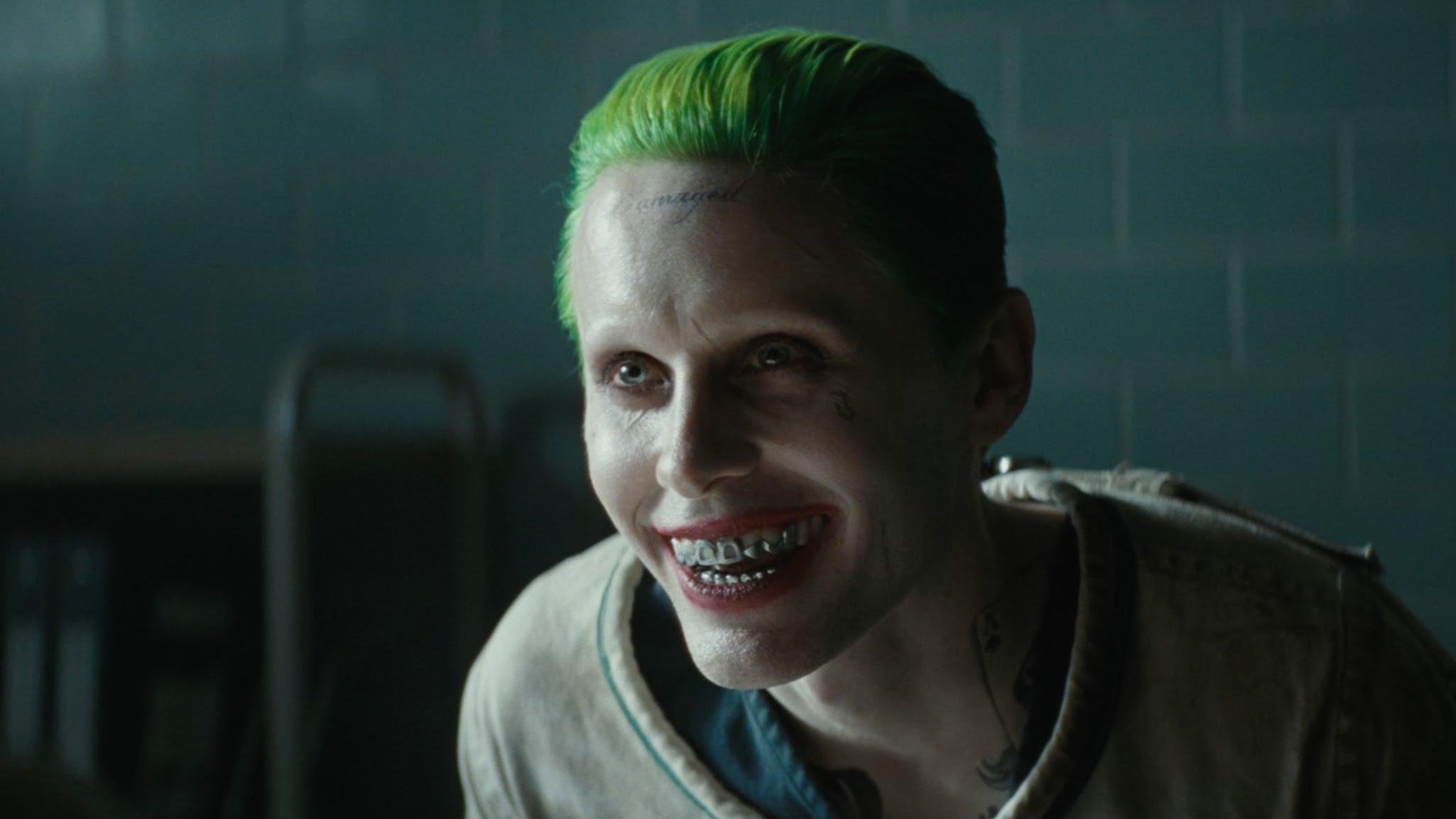 Jared Leto Joker Suicide Squad Trailer HD