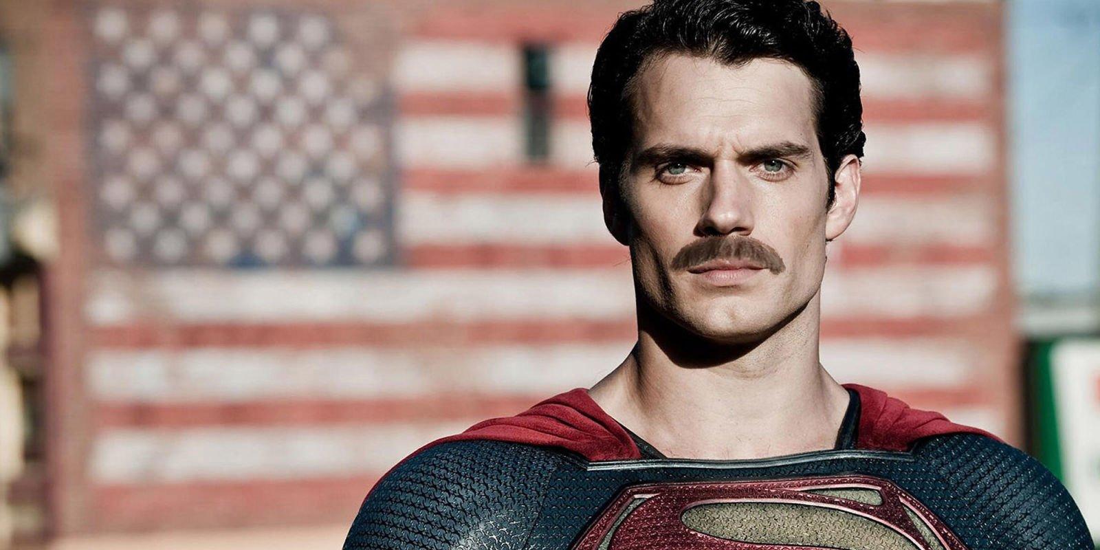 Henry Cavill Superman Mustache