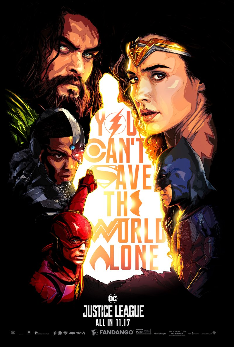 Superman is hidden in this incredible justice league poster from view full size stopboris Images