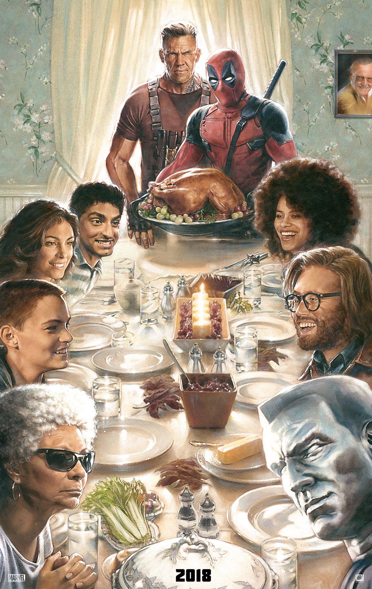 Deadpool 2 Thanksgiving