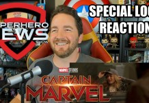 Marvel Studios' Captain Marvel Special Look – Reaction